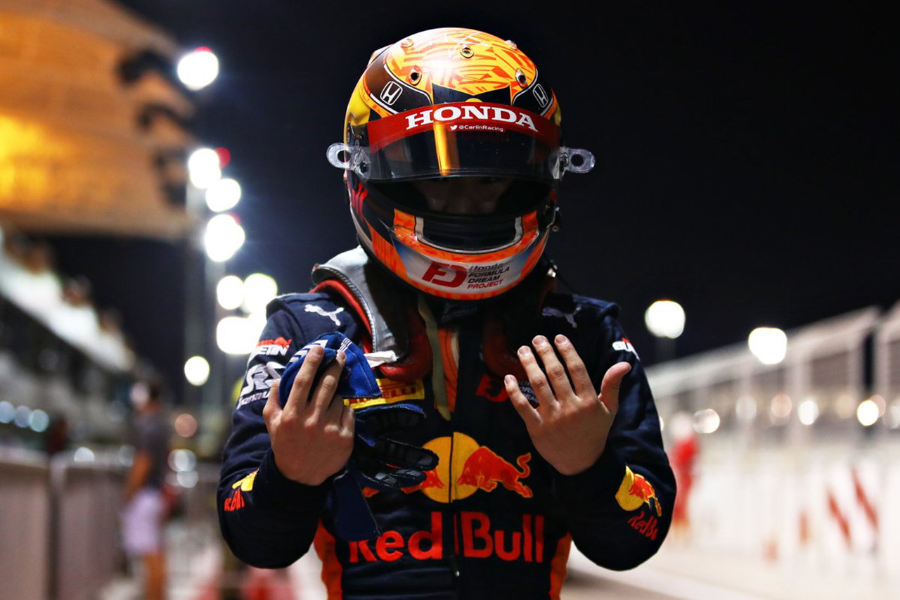 Yuki Tsunoda, who trained Honda F1, moved up to 4th place in the ranking by winning the pole for the 4th time this season / FIA-F2 Round 12 Bahrain Qualifying[F1-Gate.com]
