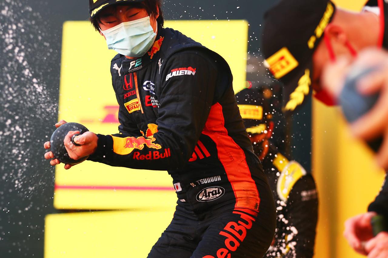 角田裕毅、目標のF1スーパーライセンス取得も「あと1レースある」