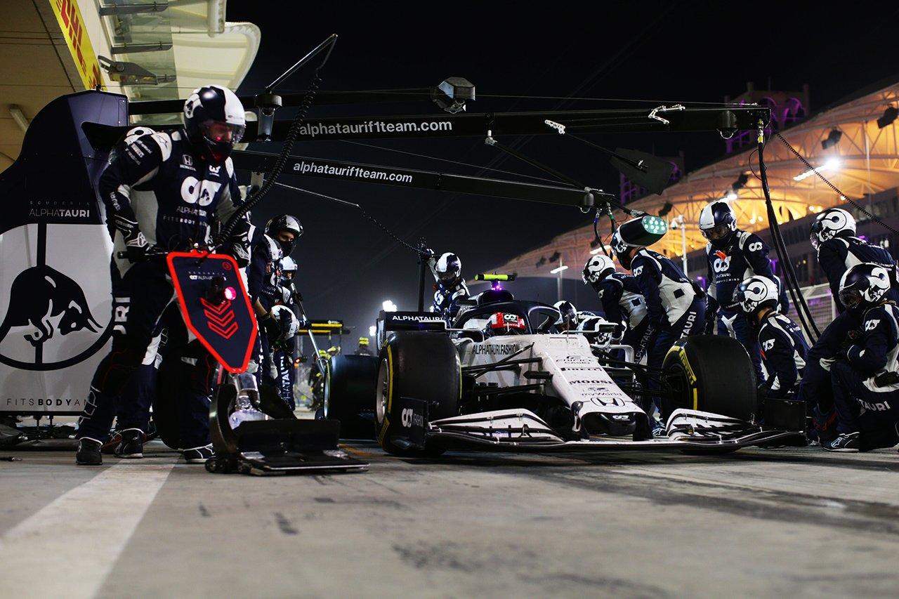 アルファタウリ・ホンダF1 「中団バトルがいかにタイトかを示す良い例」 / F1サヒールGP 決勝