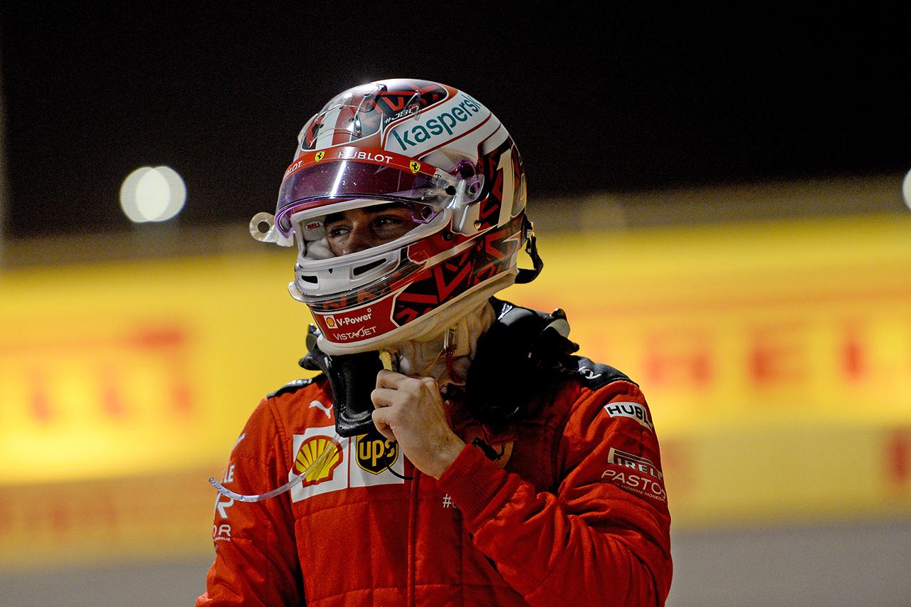 シャルル・ルクレール 「接触はペレスではなく僕の責任」 / フェラーリ F1サヒールGP 決勝