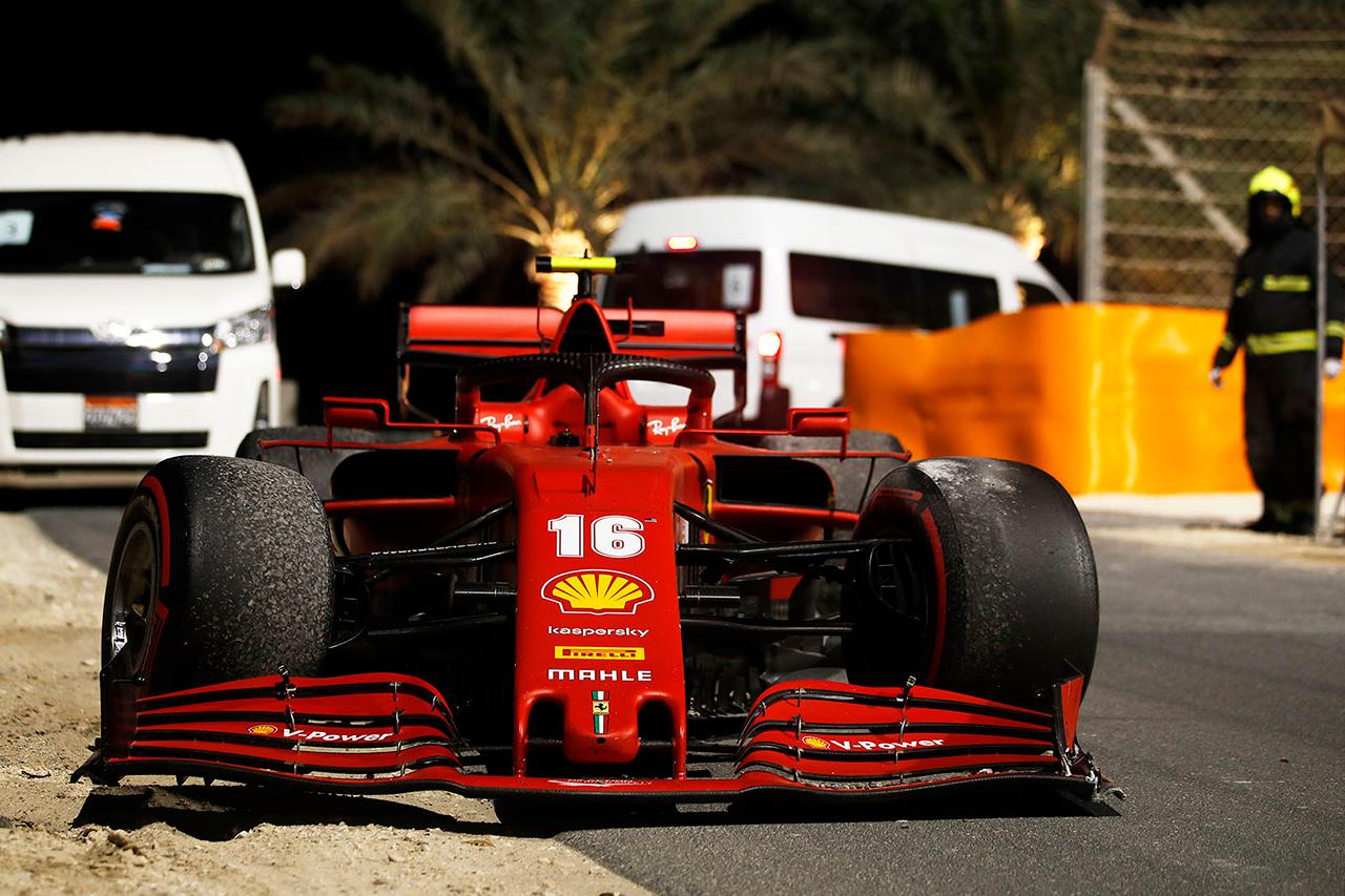 シャルル・ルクレール、最終戦F1アブダビGPで3グリッド降格ペナルティ / フェラーリ F1サヒールGP 決勝