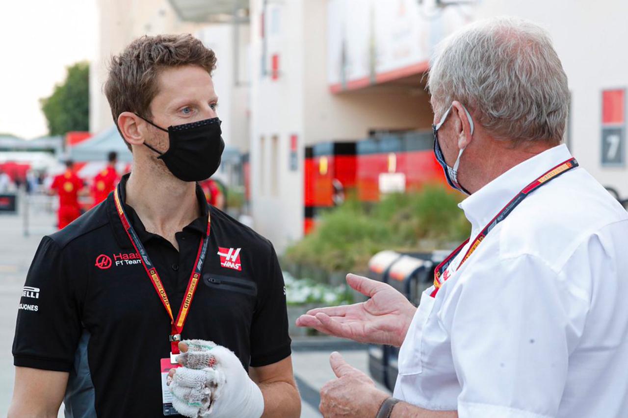メルセデスF1代表 「グロージャンに最後のF1マシン走行の機会を与えたい」