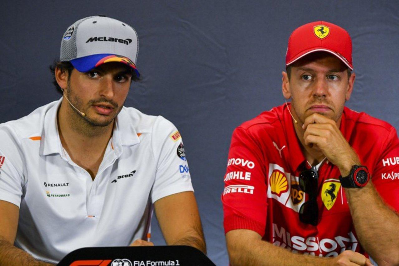 F1:ベッテルとサインツのアブダビテスト参加は許可せず
