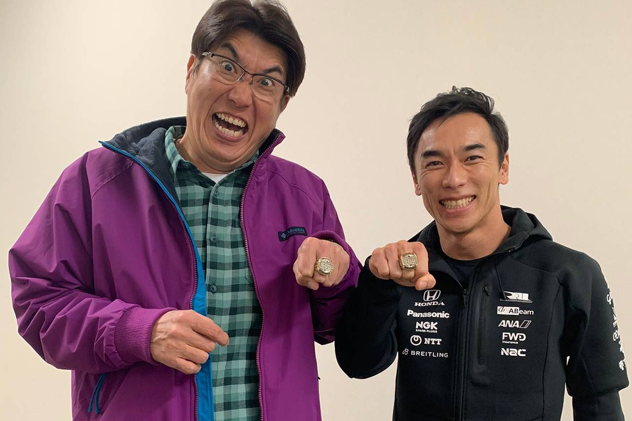 佐藤琢磨、『石橋、薪を焚べる』に出演…とんねるず石橋貴明のトーク番組