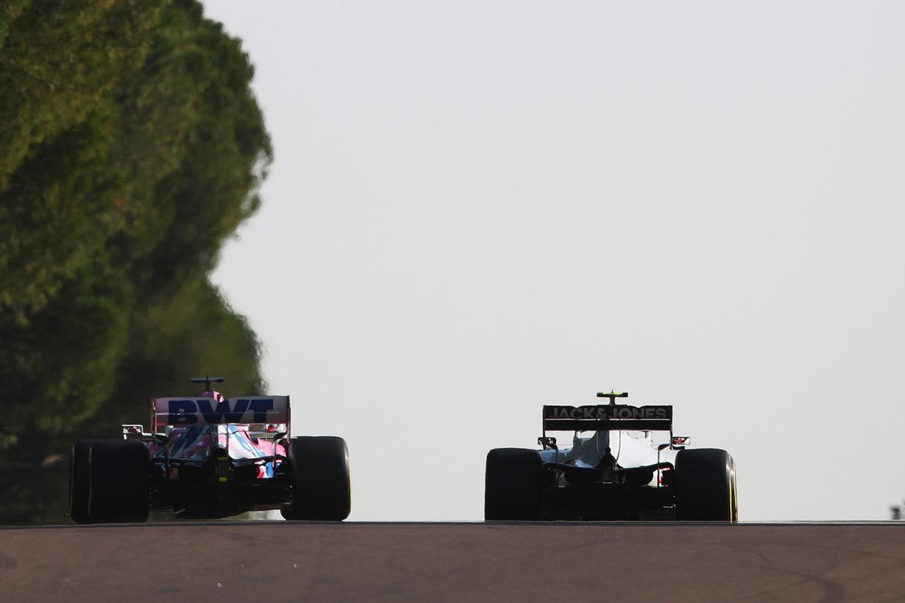 F1アブダビGP:ペレスとマグヌッセン、PU交換で最後列スタート