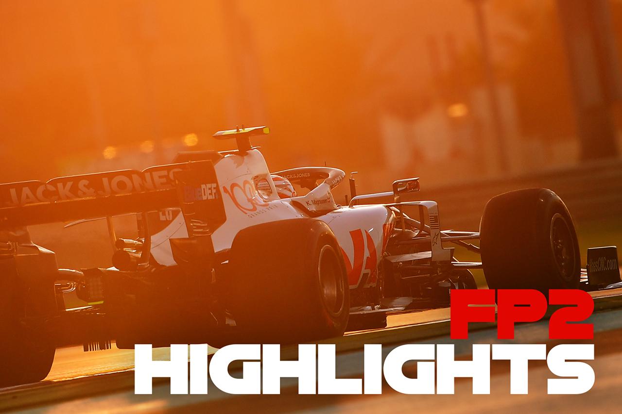 【動画】 2020年 F1アブダビGP フリー走行2回目 ハイライト