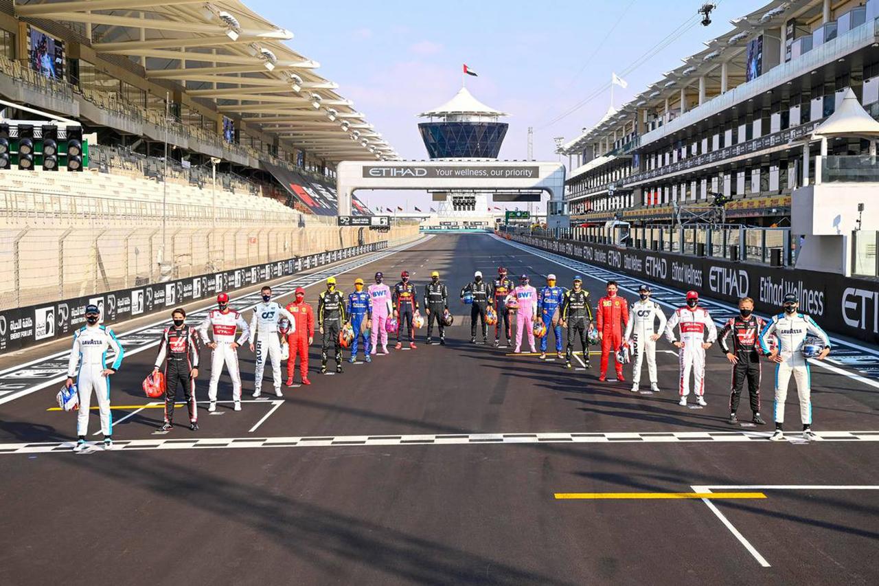2020年 F1ポイントランキング (最終戦 F1アブダビGP終了時点)