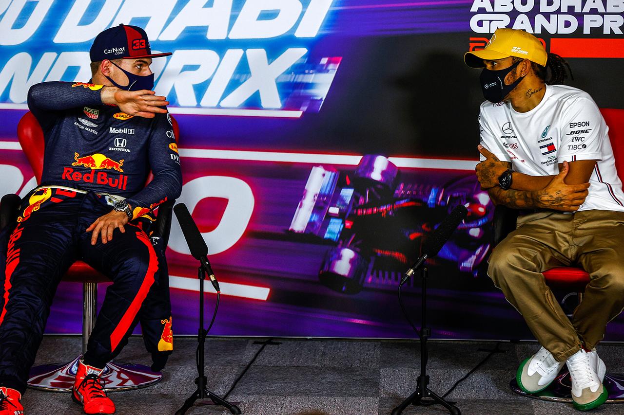 マックス・フェルスタッペン 「メルセデスはPUのパワーを下げていた」 / レッドブル・ホンダ F1アブダビGP 決勝後インタビュー
