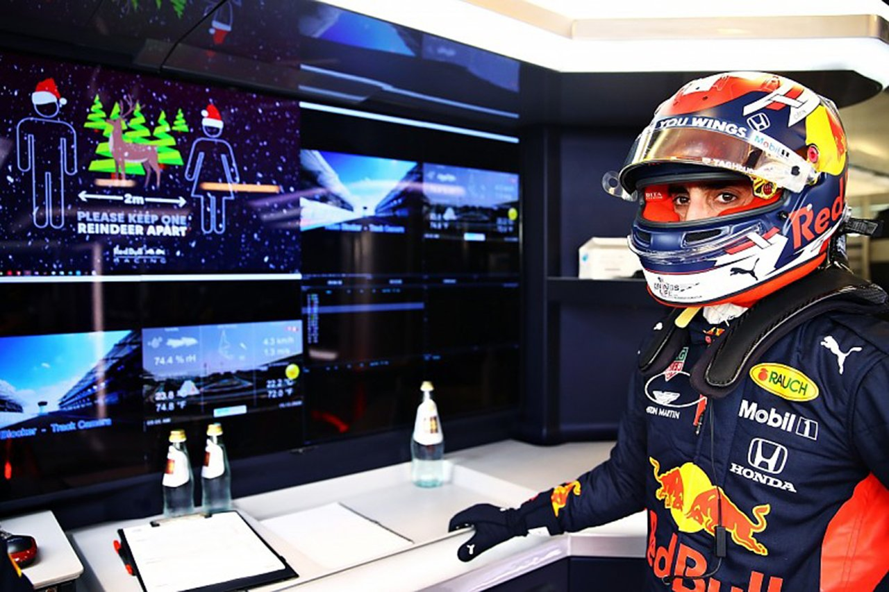 セバスチャン・ブエミ 「F1アブダビテストに参加できるとは思わなかった」 / レッドブル・ホンダF1