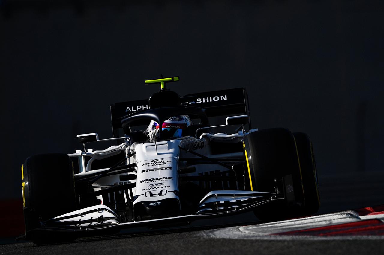 F1アブダビテスト 経過(午前):角田裕毅6番手、アロンソがトップ