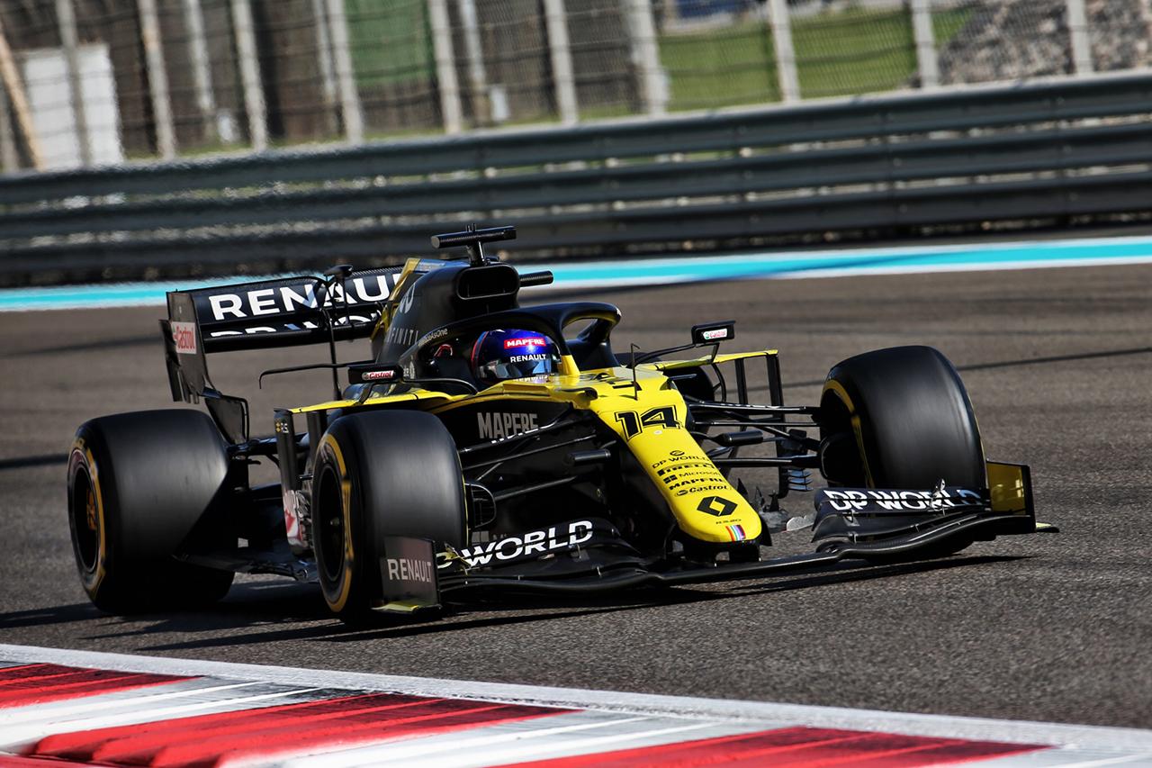 2020年 F1アブダビテスト:全ドライバーコメント