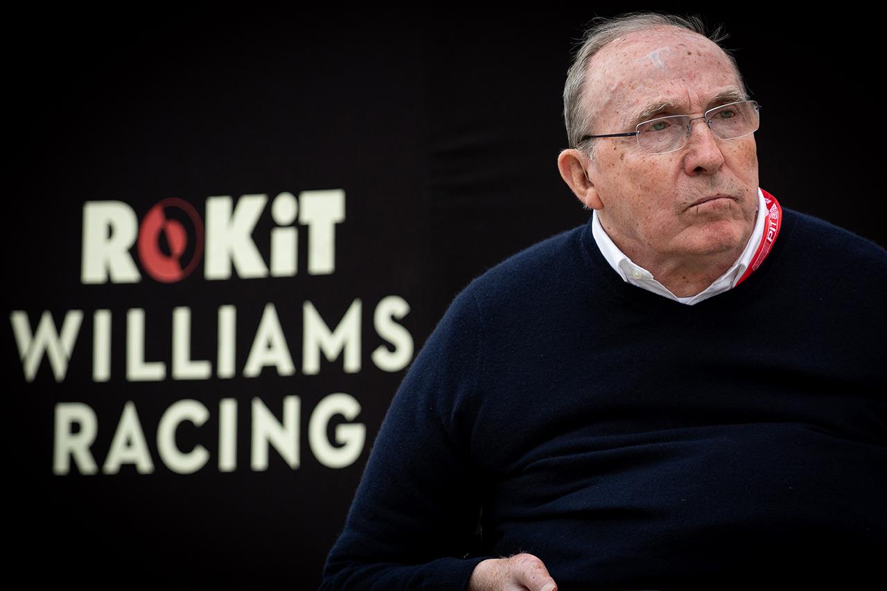 ウィリアムズF1創設者フランク・ウィリアムズが入院も「容態は安定」