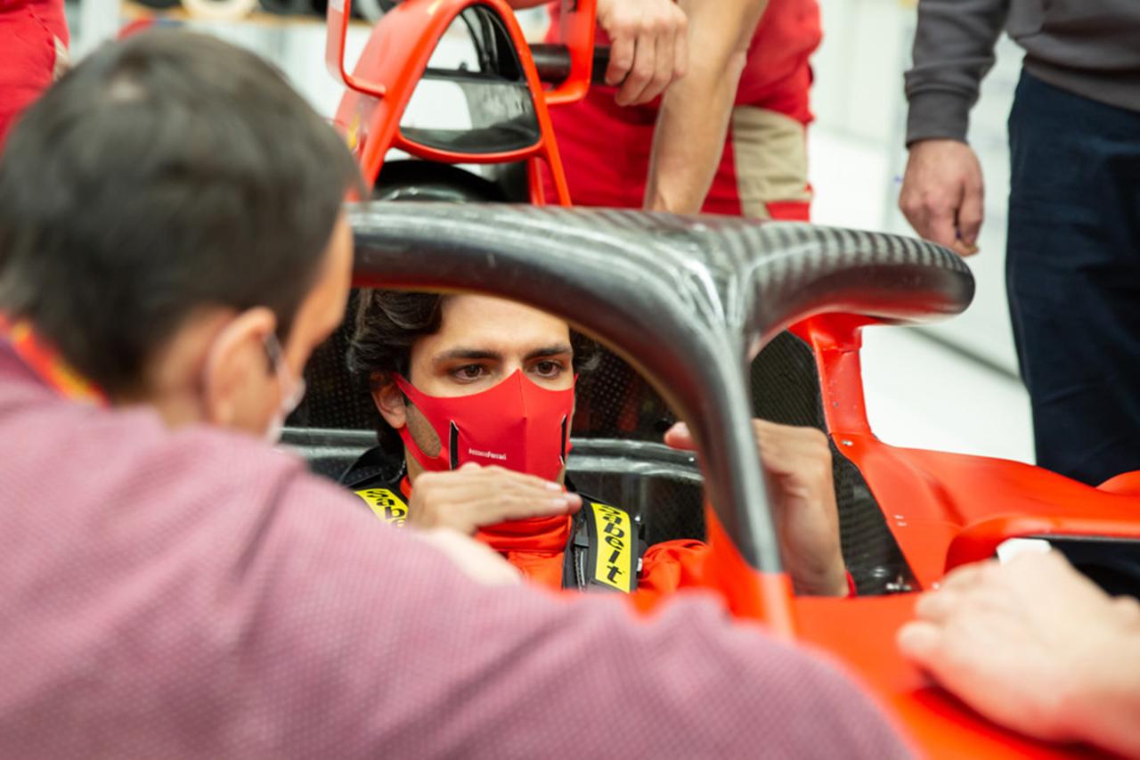 カルロス・サインツ、フェラーリのF1ドライバーとして仕事を開始
