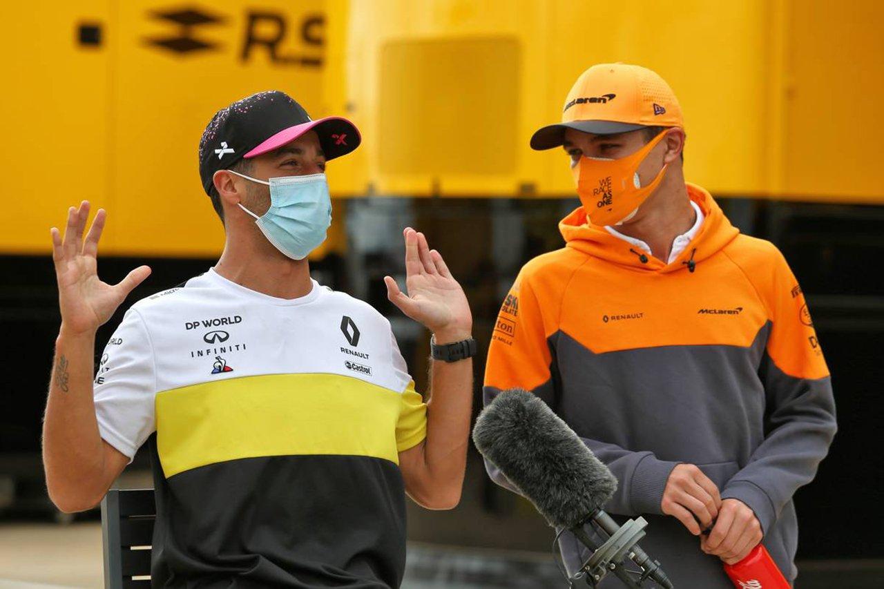 マクラーレンF1、新加入のダニエル・リカルドにチームプレイを望む