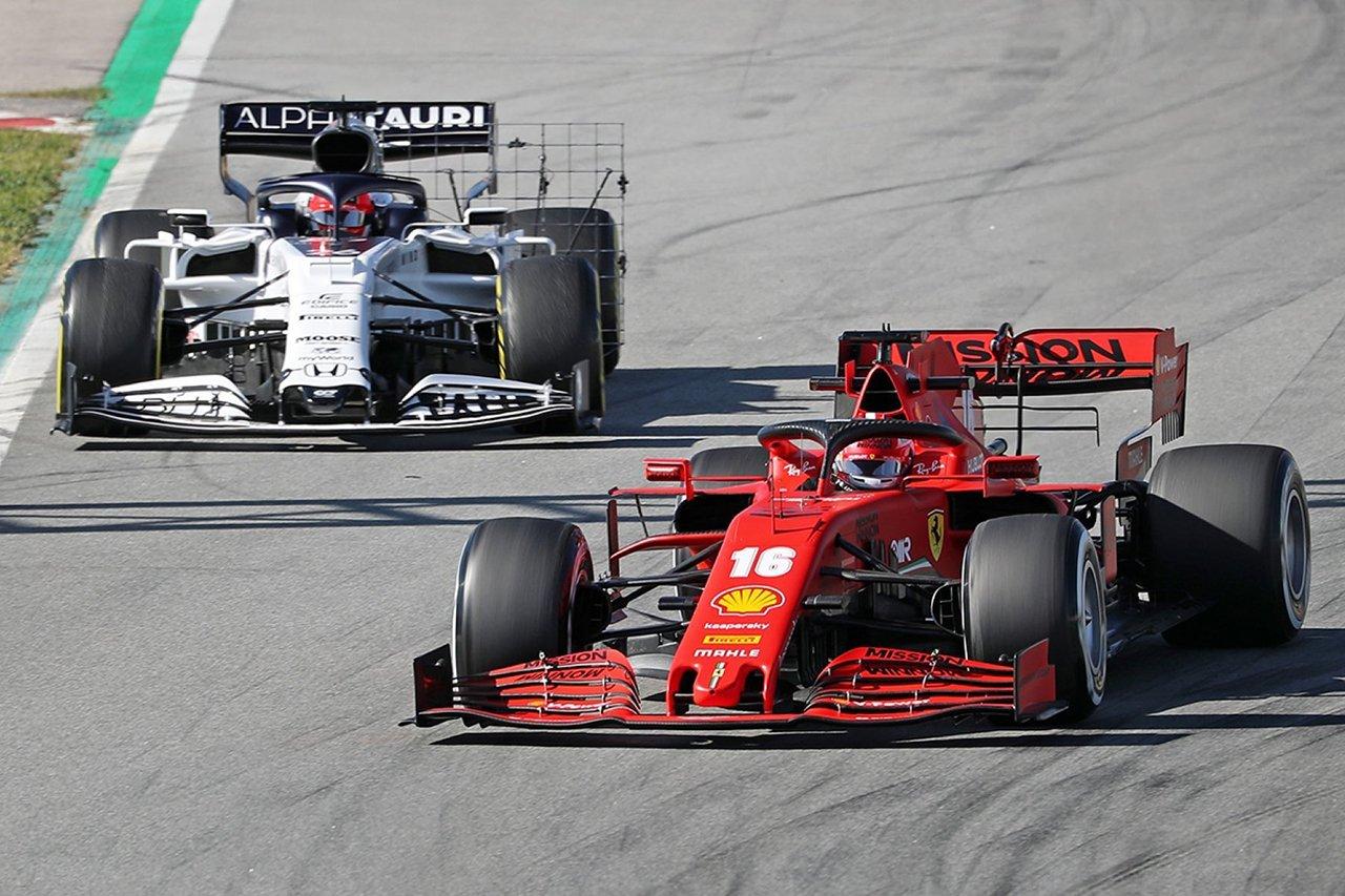 フェラーリF1代表、トークン制に不満 「アルファタウリなどに有利」