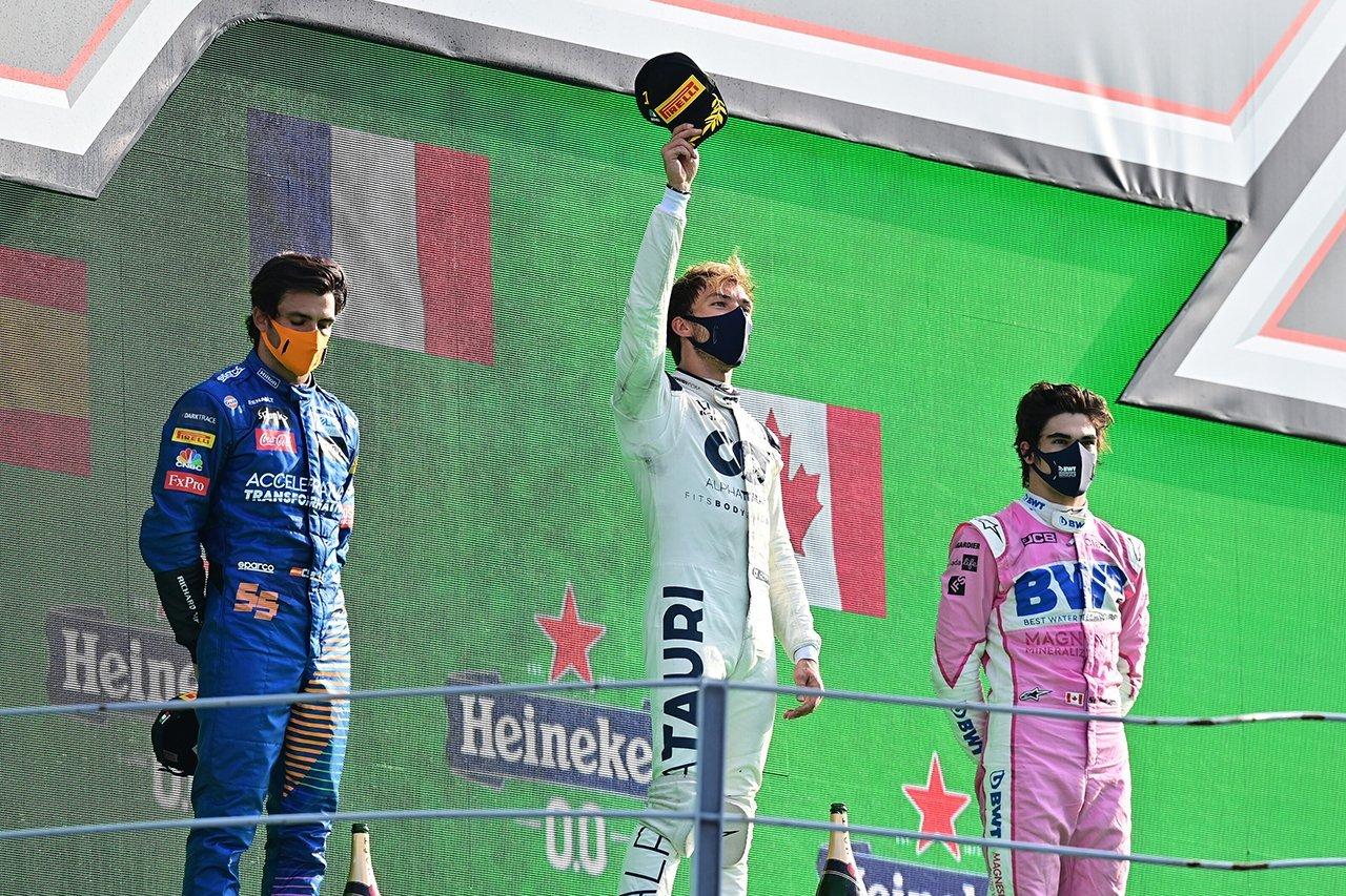 2020年のF1世界選手権:13名が表彰台に上がり、5名が優勝