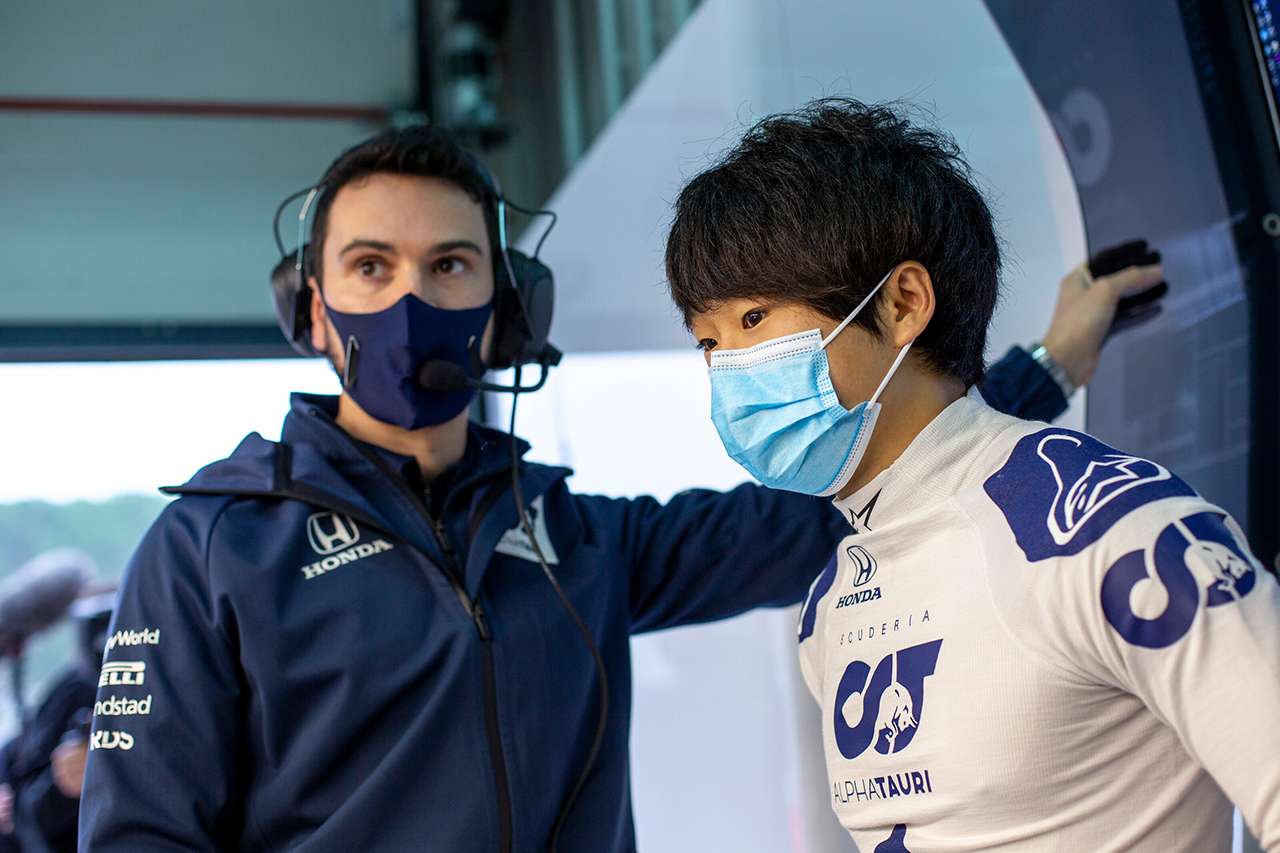 ピエール・ガスリー 「角田裕毅に影響を与えたユベールを誇りに思う」 / アルファタウリ・ホンダF1