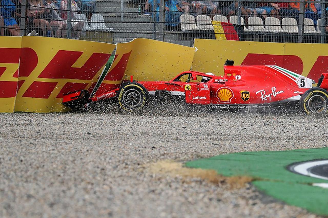 レッドブルF1首脳 「ベッテルは2018年のF1ドイツGPで自信を失った」