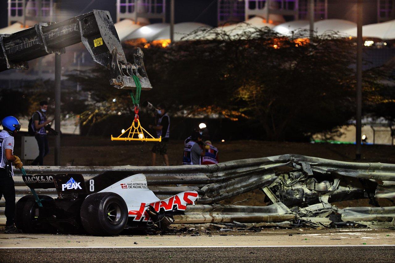 F1:ロマン・グロージャン 「事故で気絶しなかった理由を理解したい」