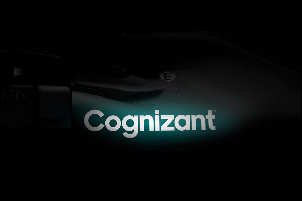 アストンマーティンF1、コグニザントとのタイトルスポンサー契約を発表…グリーンのカラーリングもチラ見せ
