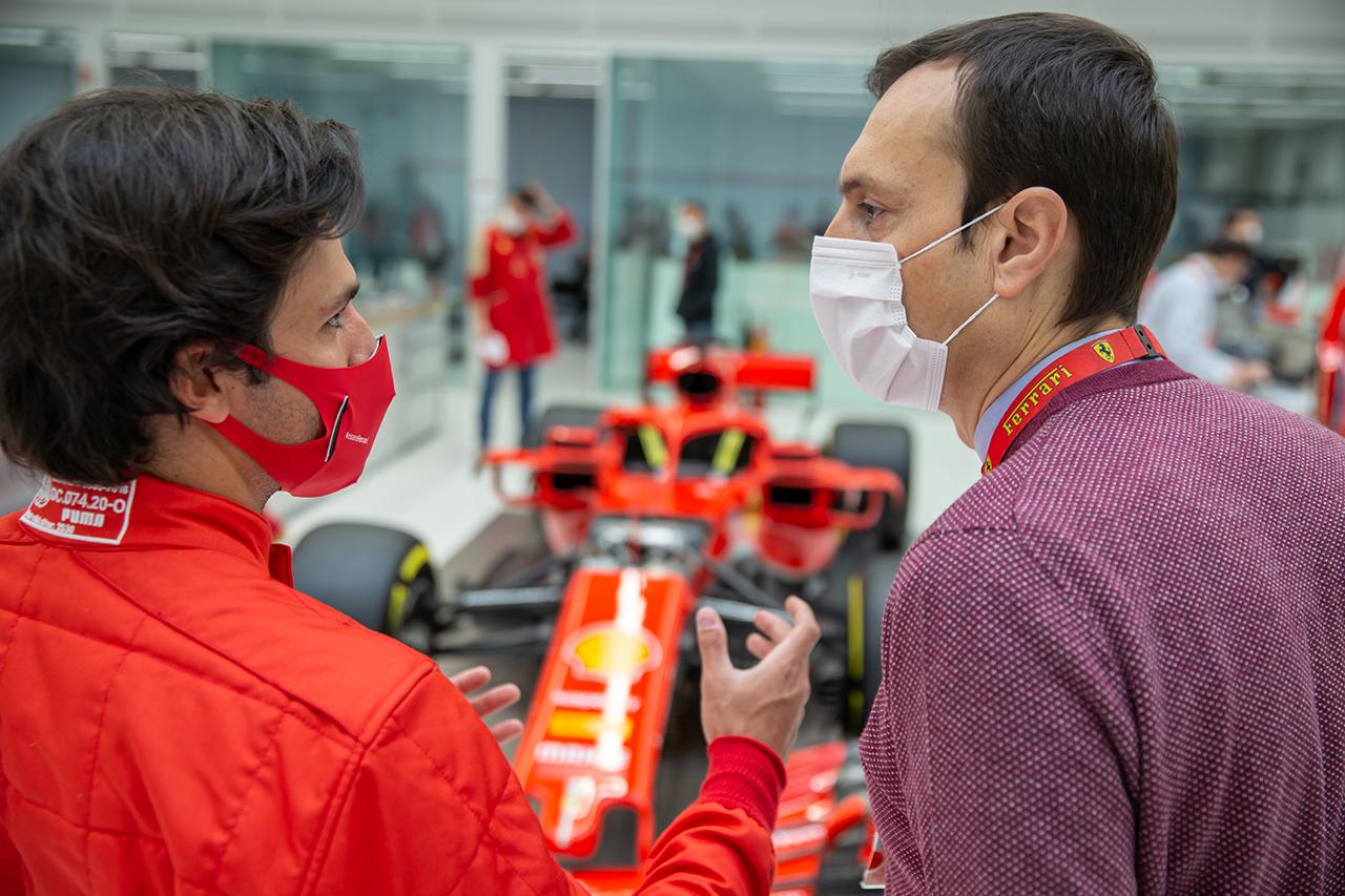 カルロス・サインツ 「フェラーリF1からのオファーを断れるわけがない」