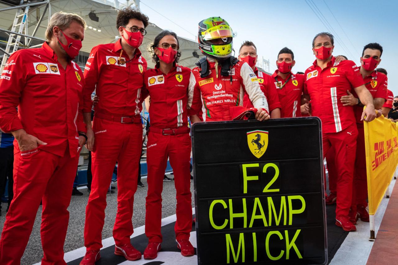 ミック・シューマッハ 「F1でベッテルと戦えるとは思ってもいなかった」