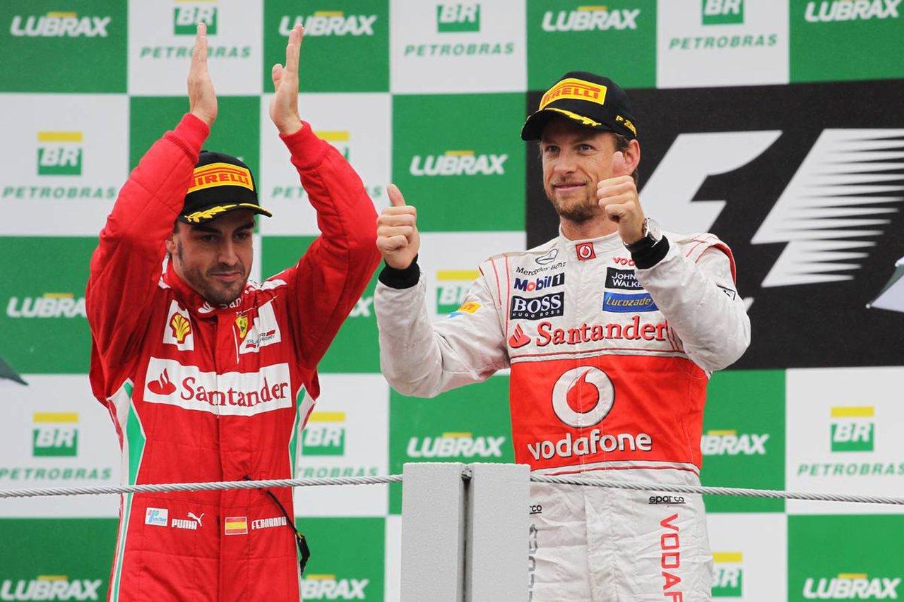 ジェンソン・バトン 「2013年のフェラーリF1移籍の契約書はできていた」