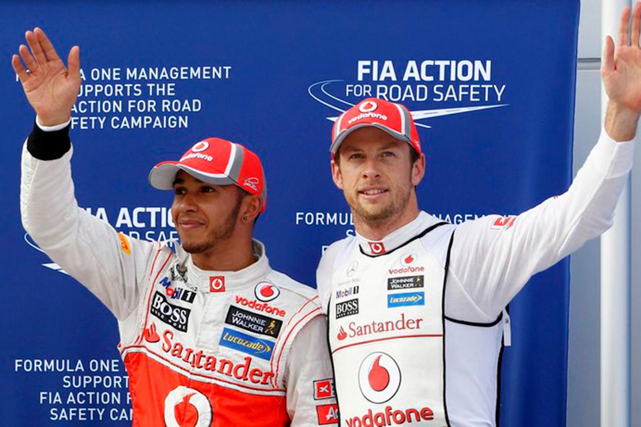 ジェンソン・バトン 「ハミルトンは間違いなくF1史上最高のドライバー」