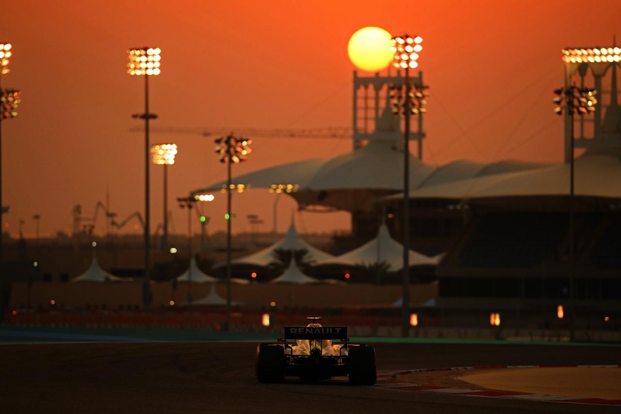 F1:2021年のプレシーズンテストはバーレーンで3/12~14に実施