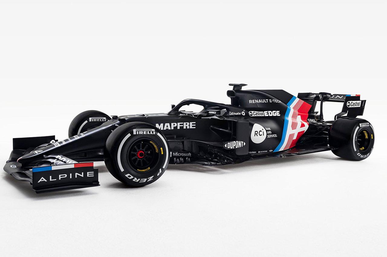 アルピーヌF1、2021年F1マシン『A521』を2月に発表…特別カラーリングを公開
