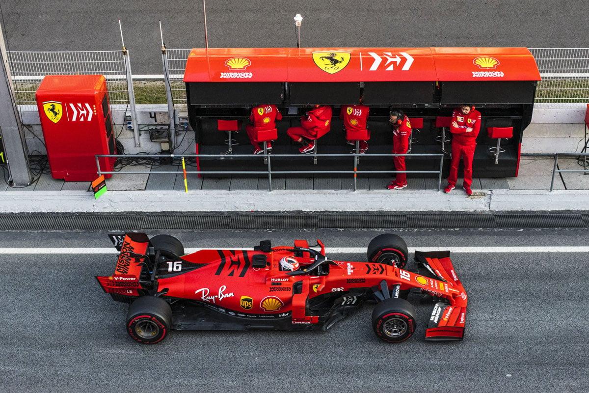 フェラーリ、2021年F1マシンでは『Mission Winnow』のロゴが復活?