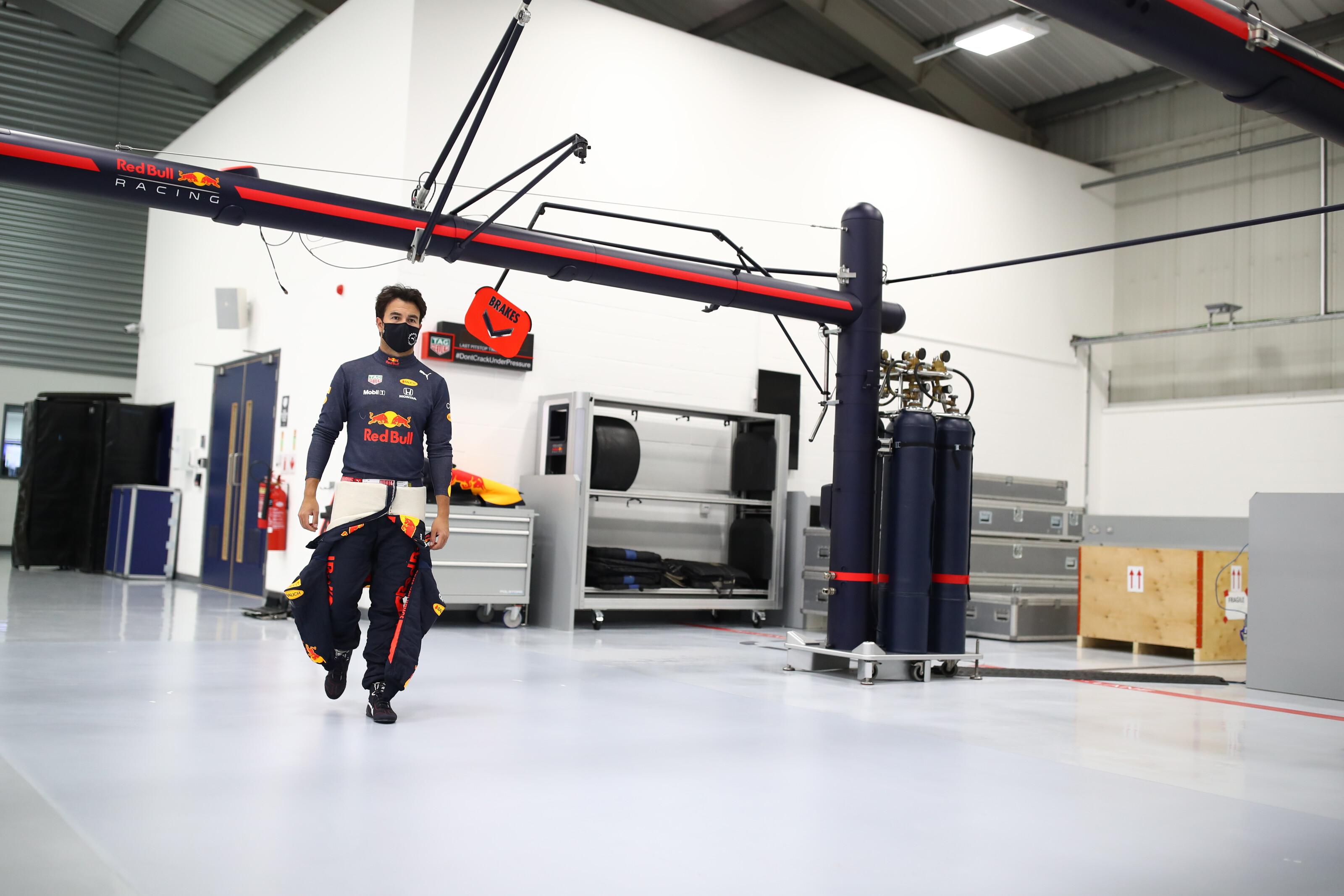 セルジオ・ペレス、レッドブル・ホンダF1のドライバーとして始動②