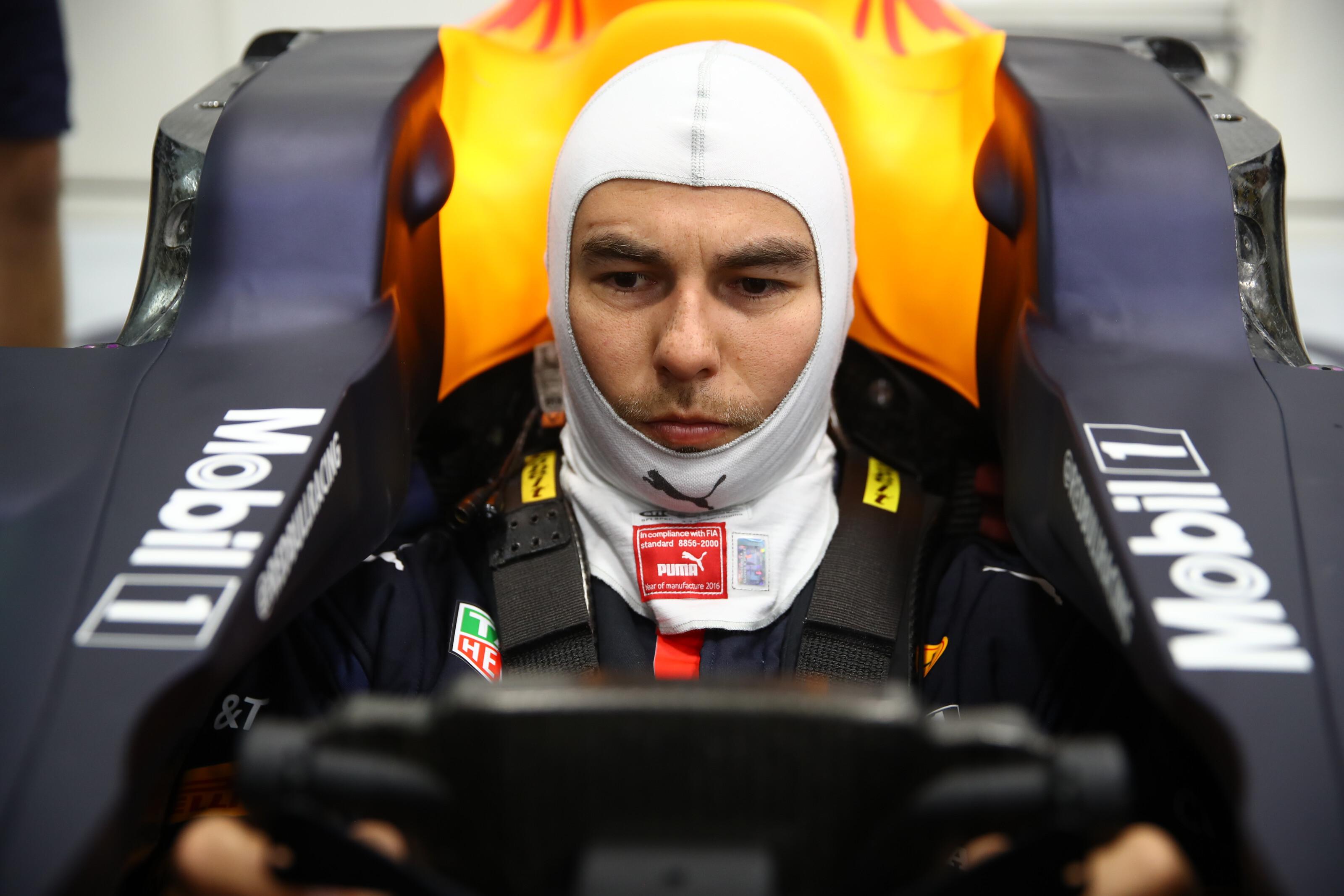 セルジオ・ペレス、レッドブル・ホンダF1のドライバーとして始動⑤