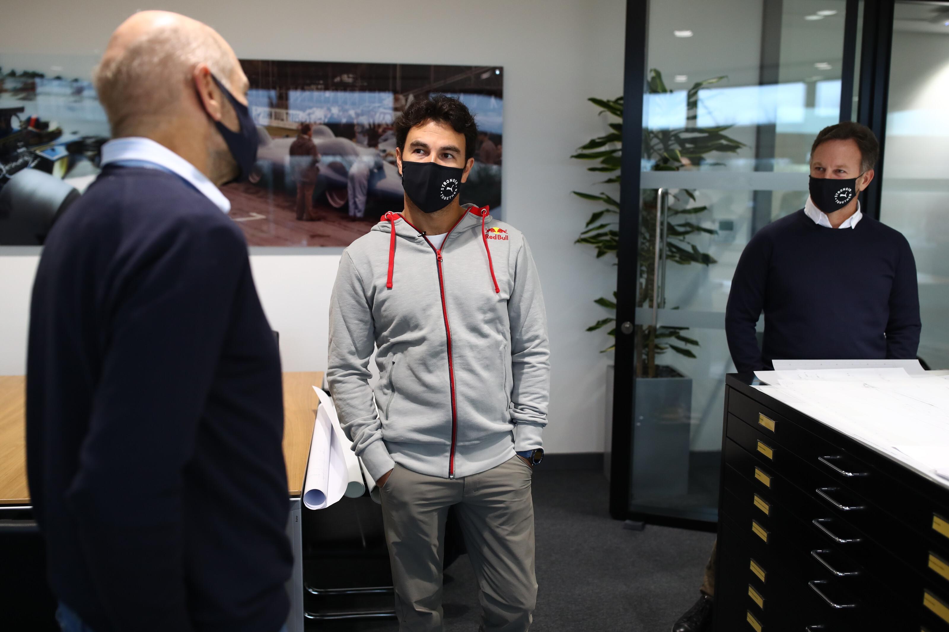 セルジオ・ペレス、レッドブル・ホンダF1のドライバーとして始動⑦