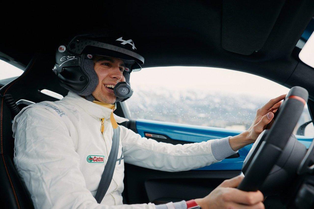 アルピーヌF1のエステバン・オコン、初体験のラリーは「本当に楽しかった」