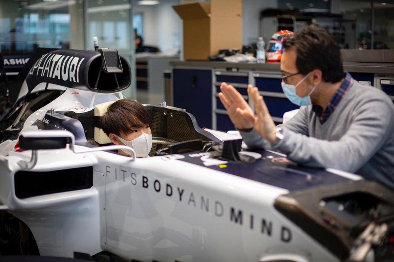 角田裕毅、アルファタウリ・ホンダのF1ドライバーとして本格始動