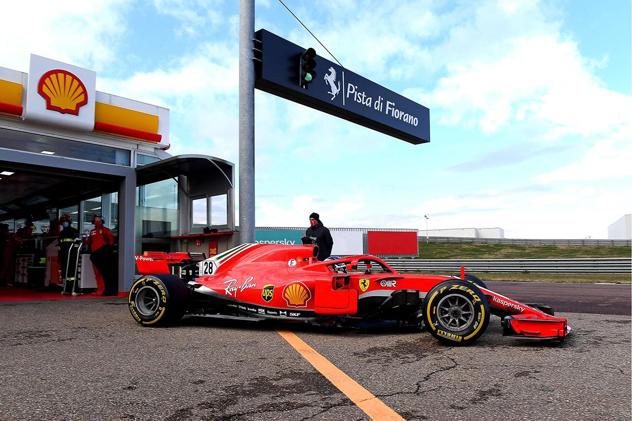 フェラーリF1 ジュリアーノ・アレジ