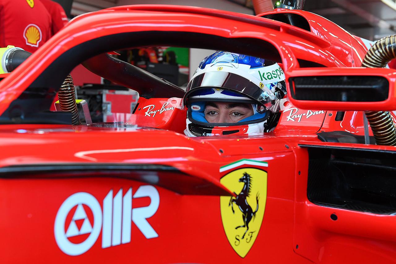ジュリアーノ・アレジ、フェラーリのF1マシン初走行でFDAに別れ