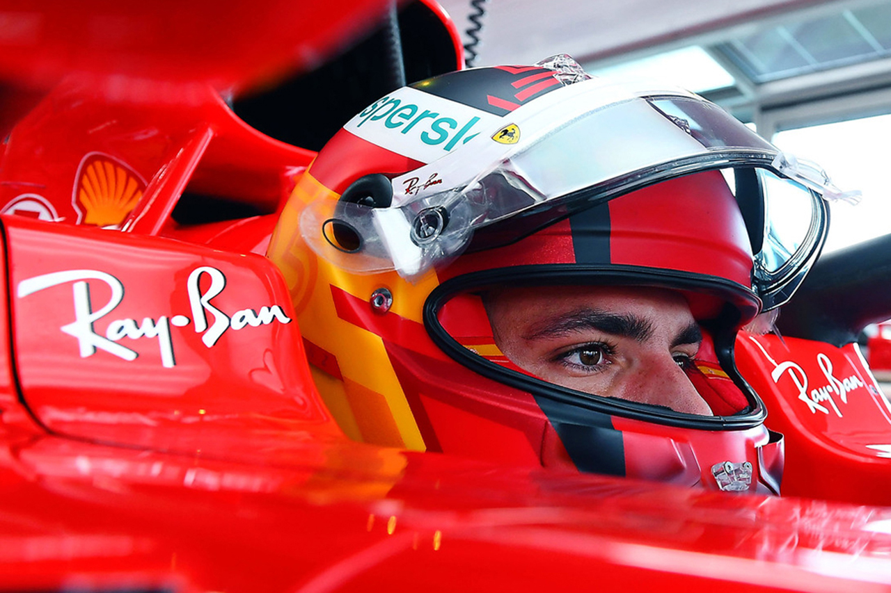 カルロス・サインツ、フェラーリのF1マシンで初走行「この日のことは忘れない」