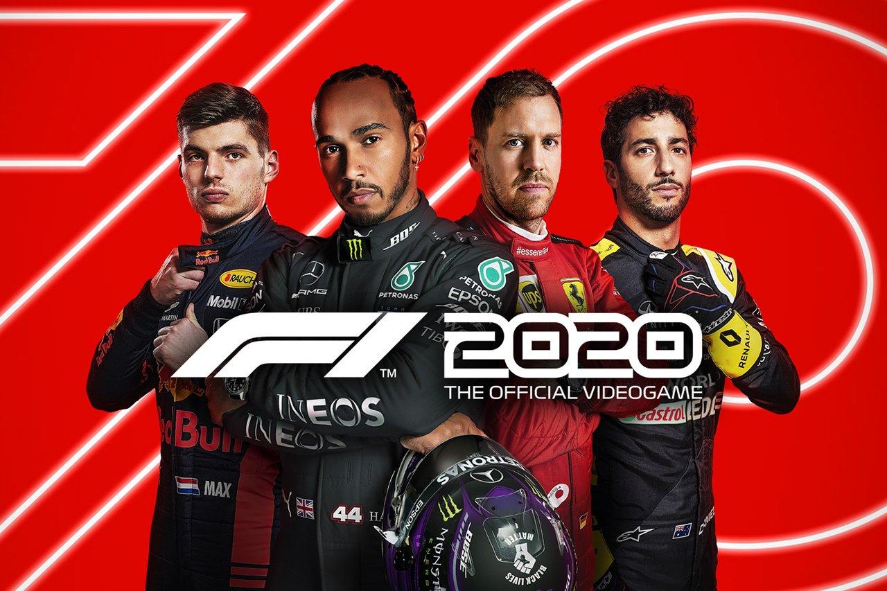 F1ゲーム『F1 2020』 F1ドライバーの最終ドライバーレーティングを公開