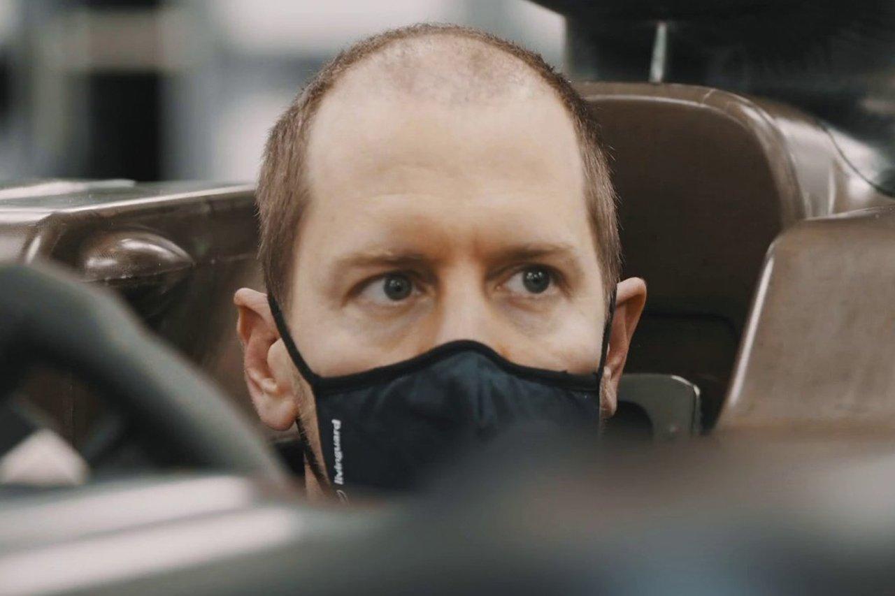 F1:セバスチャン・ベッテル、次の登場時にはいつもの髪型に戻る?