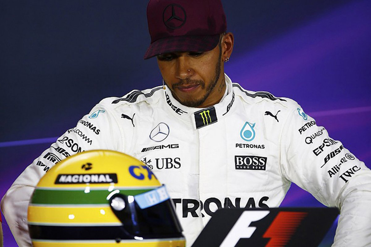 F1王者ルイス・ハミルトン 「アイルトン・セナもF1で孤独だった」