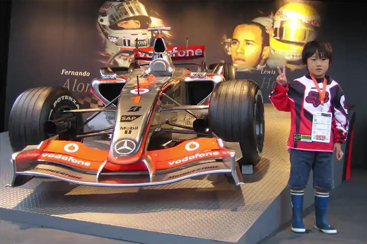 角田裕毅、F1ドライバーを目指すきっかけはルイス・ハミルトン