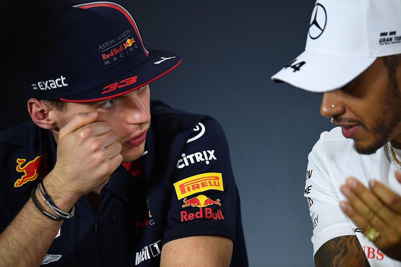 """F1王者ハミルトン、メルセデスとの新契約に""""フェルスタッペン条項""""?"""