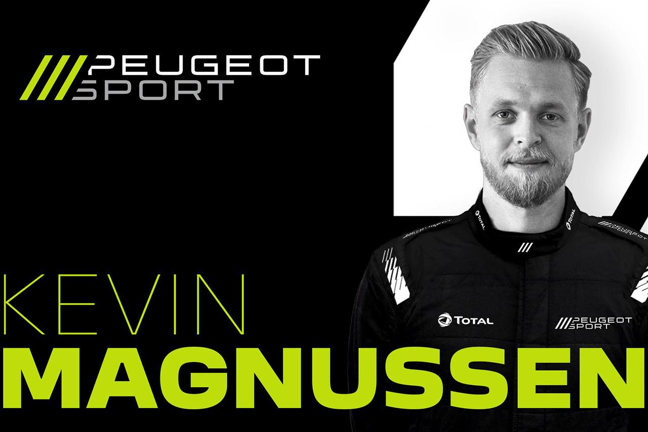 元ハースF1のケビン・マグヌッセン、2022年にプジョーからWEC参戦が決定…元F1ドライバー3名が加入