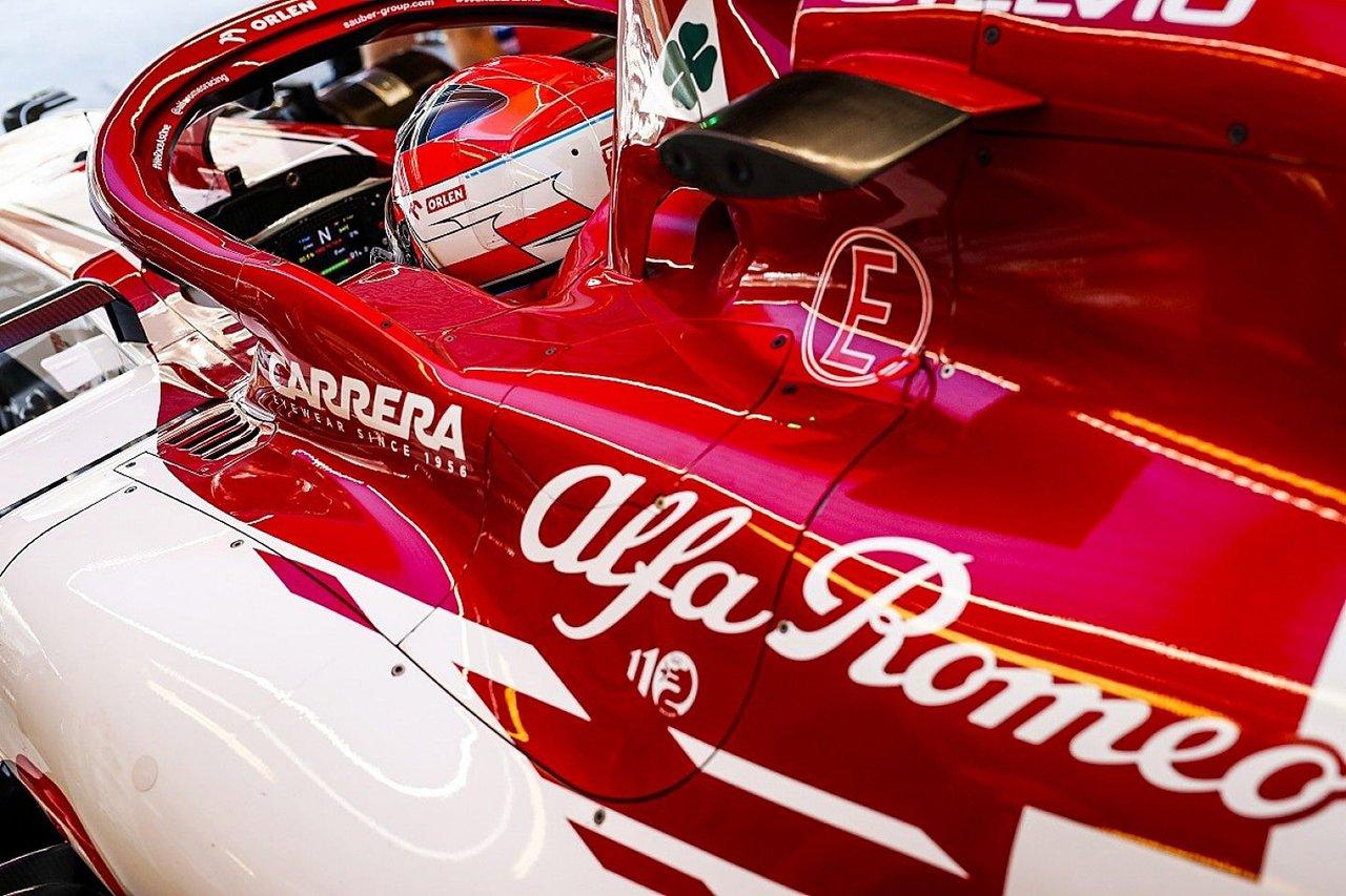 アルファロメオF1、2021年F1マシン『C41』のエンジンを初始動