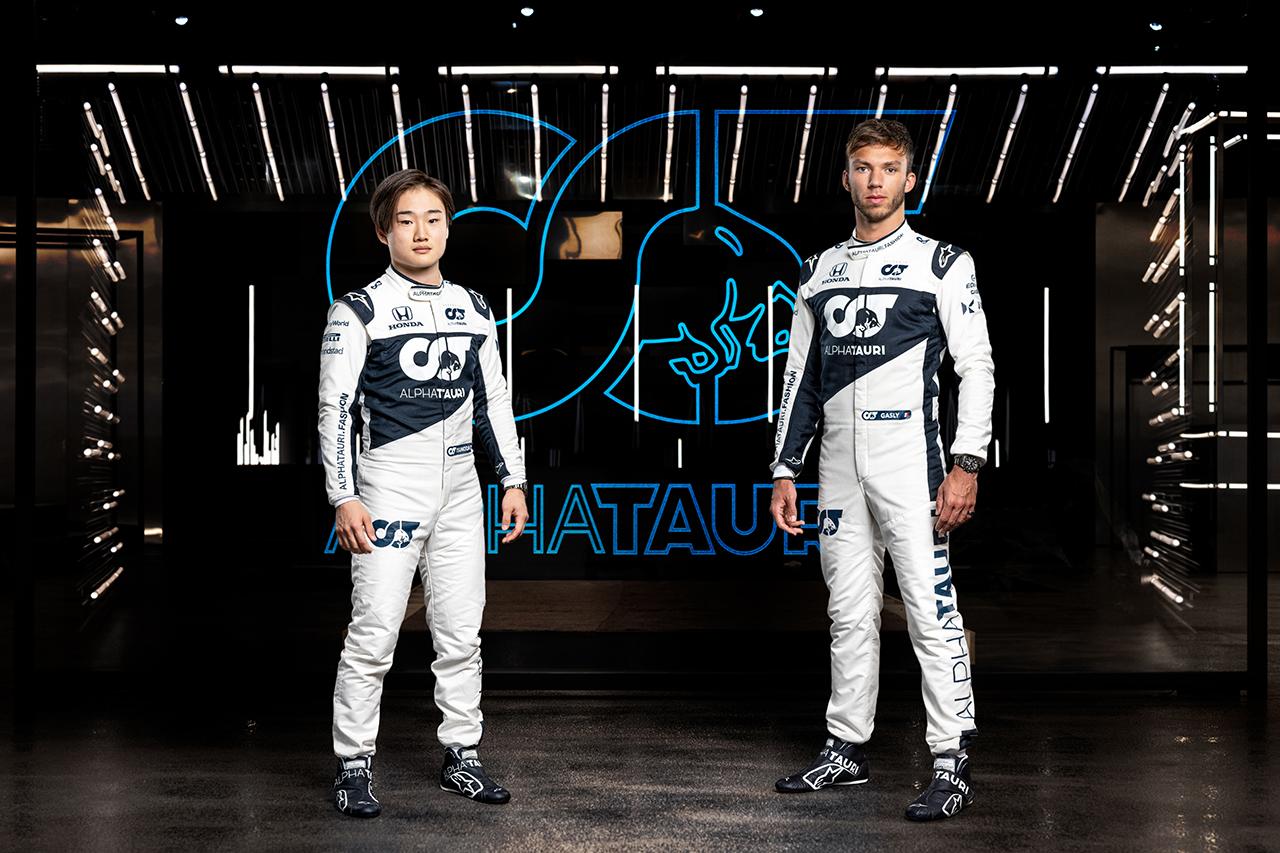 アルファタウリF1代表 「角田裕毅とガスリーのペアは必ず成功する」 / アルファタウリ・ホンダ AT02 新車発表会