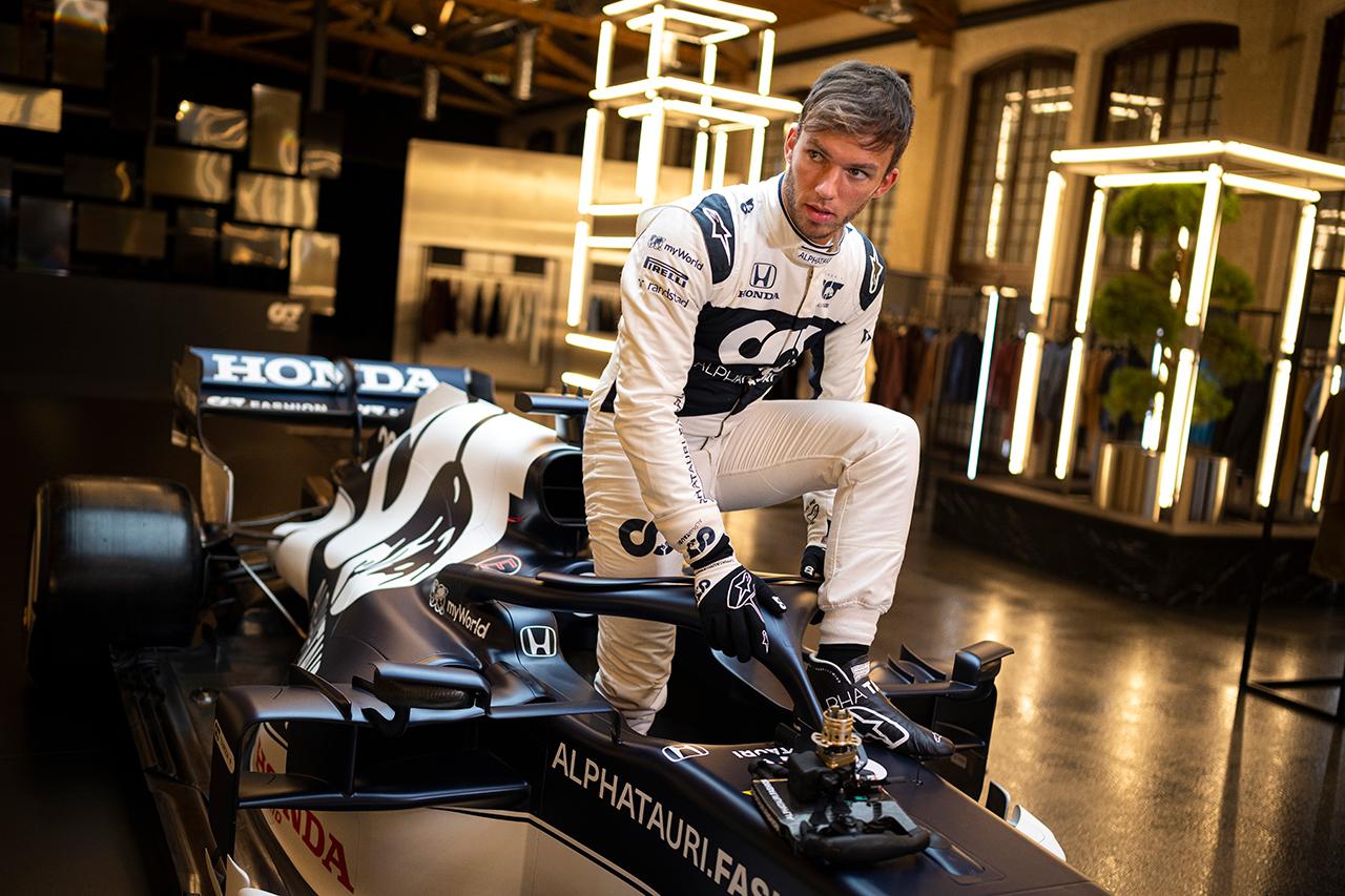 ピエール・ガスリー 「角田裕毅は速い。チームに貢献してくれるはず」 / アルファタウリ・ホンダF1 AT02 新車発表会