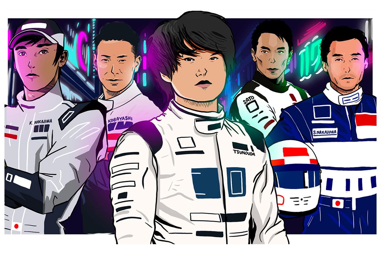 F1公式SNS、角田裕毅のF1デビューを漫画風イラストで祝福