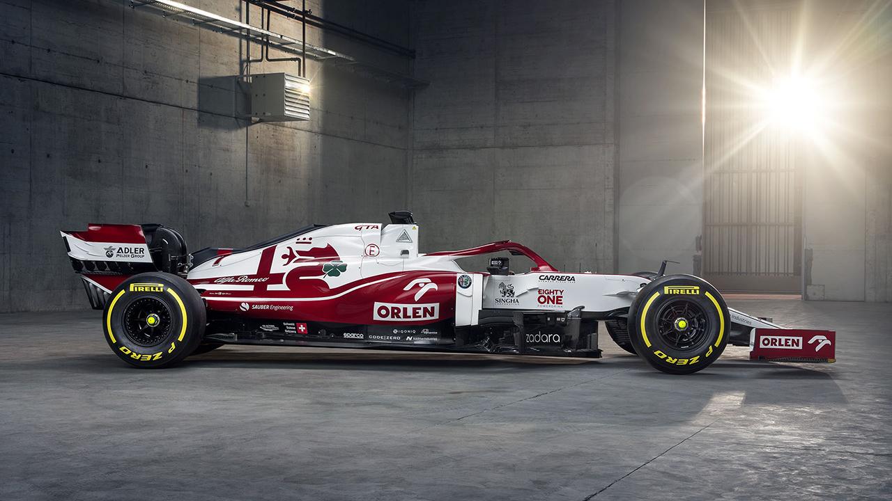 2021 Alfa Romeo Racing ORLEN C41